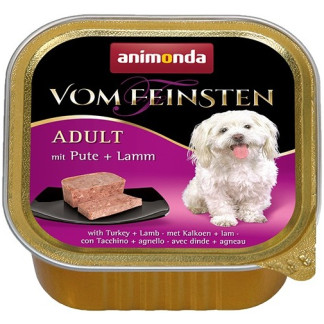 Пастет VOM FEINSTEN ADULT TURKEY AND LAMB за кучета над 12 м, 150 g