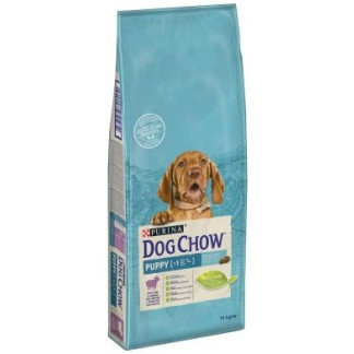 Суха храна DOG CHOW PUPPY CHICKEN за кучета до 12 м. с пиле, 14 kg