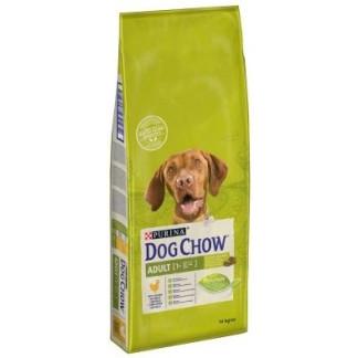 Суха храна DOG CHOW ADULT CHICKEN за кучета над 12 м. с пиле, 14 kg