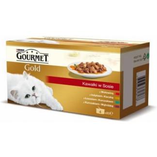 Gourmet Gold Хапки в сос Мултипак 4х85гр