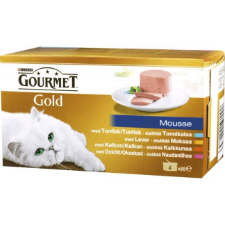 Gourmet Gold Пастет Мултипак 4х85гр.