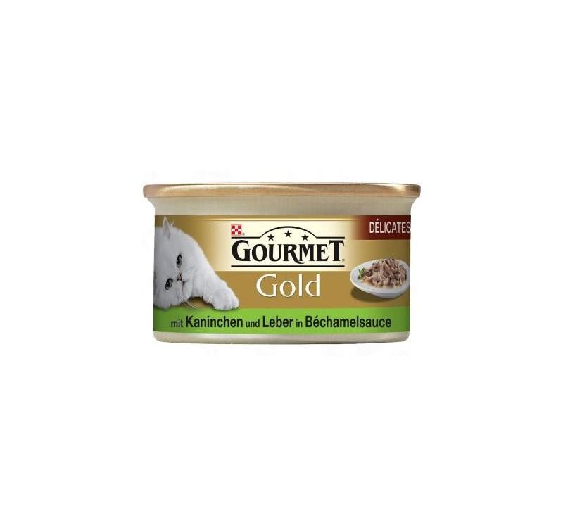 Gourmet Gold двойно удоволствие Заек и дроб 0.85 gr