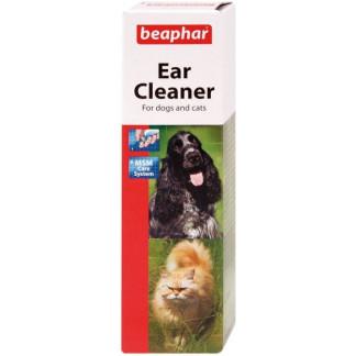 Препарат за почистване на уши BEAPHAR EAR CLEANER за кучета, котки и гризачи, 50 ml
