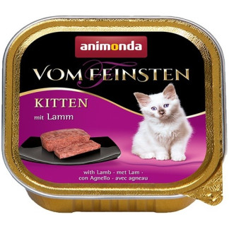 Пастет ANIMONDA VOM FEINSTEN KITTEN LAMB, котенца до 12 м, 100 g