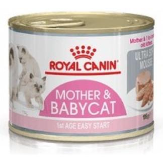 Фин пастет ROYAL CANIN MOTHER & BABYCAT ULTRA SOFT MOUSSE за котенца до 4 м, 195 g