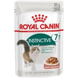 Пауч ROYAL CANIN INSTINCTIVE GRAVY 7+ хапки в сос за котки над 7 г, 85 g