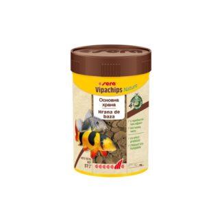 Храна SERA VIPACHIPS NATURE чипс за придънни риби, 100 ml