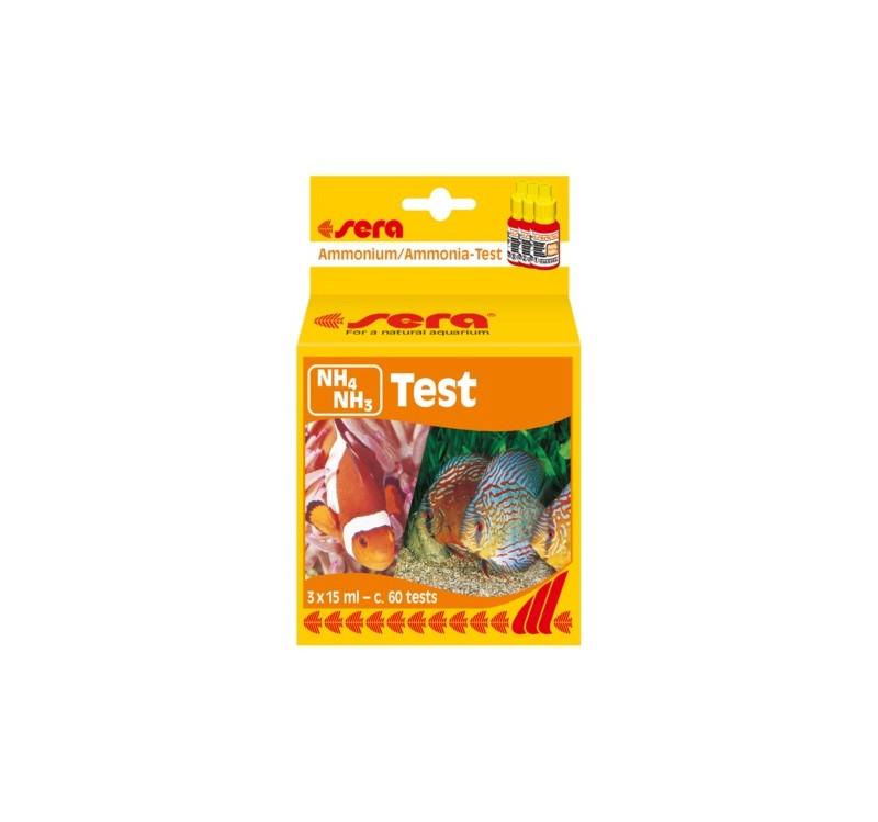 Тест за амоний, амоняк SERA NH4, NH3 TEST, 15 ml