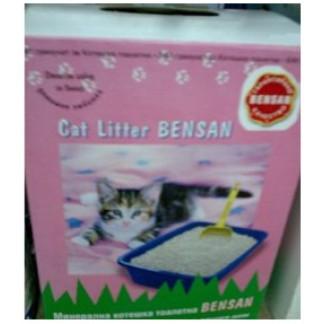 BENSAN-бентонитова котешка тоалетна/бял гранулат/-5кг.