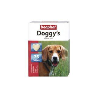 Витамини за кучета BEAPHAR DOGGY'S BIOTINE, 75 бр.