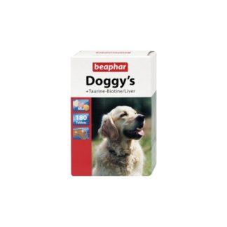 Витамини за кучета DOGGY'S MIX TAURINE BIOTINE LIVER, 180 бр