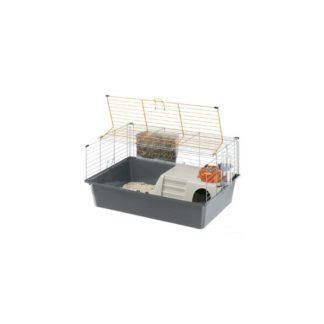 Оборудвана клетка за морски свинчета FERPLAST CAGE CAVIE 15, 70х47х37,5 см.