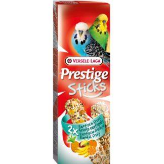 Лакомство за вълнисти папагали стик с плодове VERSELE LAGA STICKS BUDGIES EXOTIC FRUIT, 2 бр