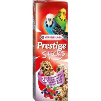 Лакомство за вълнисти папагали стик с горски плодове VERSELE LAGA STICKS BUDGIES FOREST FRUIT, 2 бр
