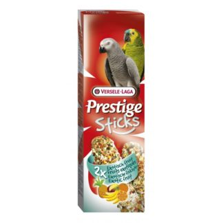 Лакомство за големи папагали стик с плодове VERSELE LAGA STICKS PARROTS EXOTIC FRUIT, 2 бр