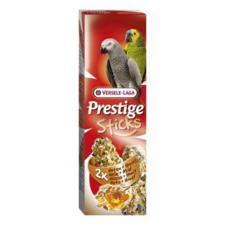 Лакомство за големи папагали стик с ядки и мед VERSELE LAGA STICKS PARROTS NUTS & HONEY, 2 бр