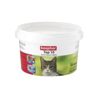 Витамини за котки BEAPHAR TOP 10, 180 бр.