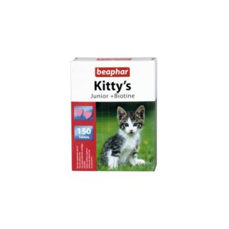 Витамини за малки котета BEAPHAR KITTY'S JUNIOR BIOTIN, 150 бр