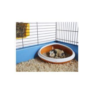 Тоалетна за малки животни с капак.36,00cm x 26,50cm x 15,50cm