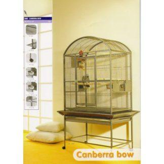 Клетка за папагали Canberra Bow Размери 57,5x80x167 см.