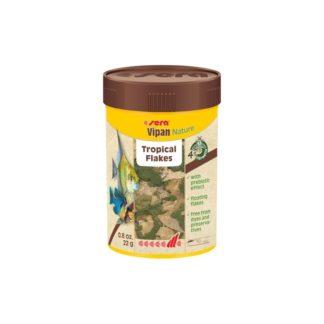 Храна на люспи SERA VIPAN NATURE, 100 ml