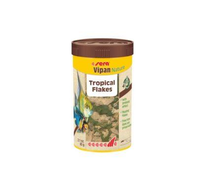 Храна на люспи SERA VIPAN NATURE, 250 ml