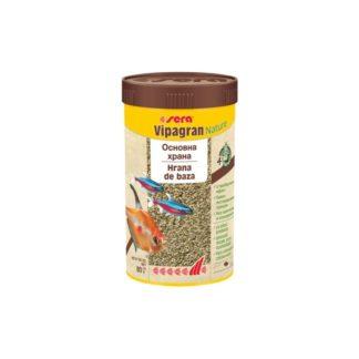 Храна на гранули SERA VIPAGRAN NATURE, 1000 ml