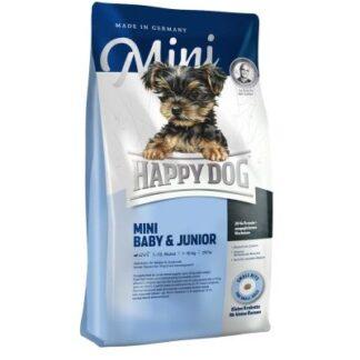 Суха храна HAPPY DOG SUPREME YOUNG MINI BABY&JUNIOR за кученца до 12 м дребни и мини породи