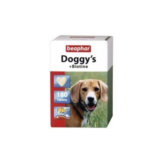 Витамини за кучета BEAPHAR DOGGY'S BIOTINE, 180 бр.
