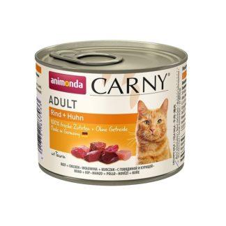 Консерва ANIMONDA CARNY ADULT BEEF AND CHICKEN котки над 1 год, 200 g