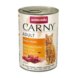 Консерва ANIMONDA CARNY ADULT BEEF AND CHICKEN котки над 1 год, 400 g