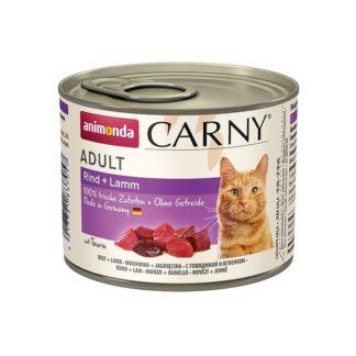 Консерва ANIMONDA CARNY ADULT BEEF AND LAMB котки над 1 год, 200 g