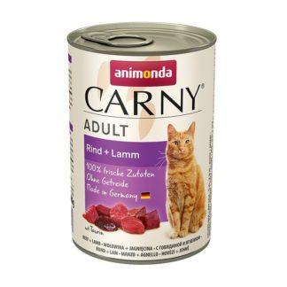 Консерва ANIMONDA CARNY ADULT BEEF AND LAMB котки над 1 год, 400 g