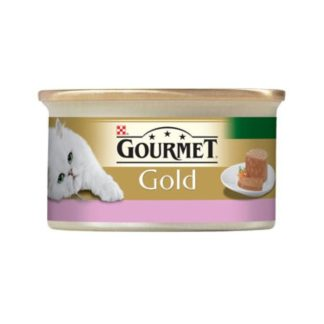 Gourmet Gold хапки в пастет агне и патица 85 гр