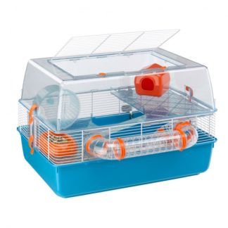 Оборудвана клетка за хамстери FERPLAST CAGE DUNA FUN, 55х39х37,5 см