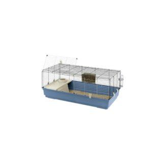 Оборудвана клетка за зайци FERPLAST CAGE RABBIT 120, 118х58,5х51,5 см