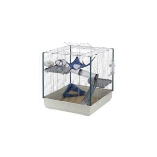 Оборудвана клетка за порчета FERPLAST CAGE FURET XL GREY, 75х80х86,5 см.
