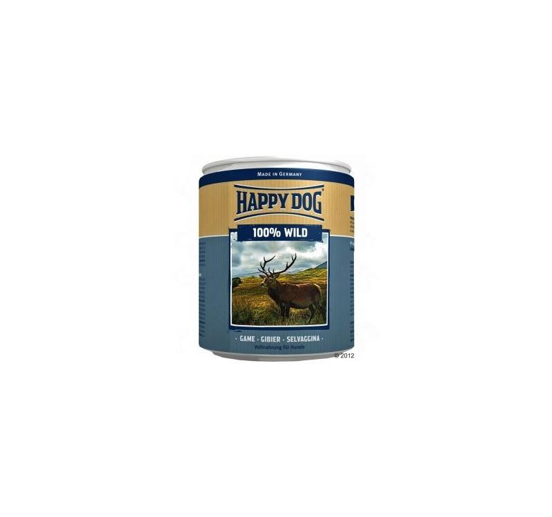 Консерва за кучета Happy Dog- Еленско месо 800 гр