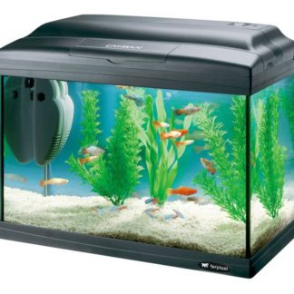Оборудван аквариум Ferplast CAYMAN 40 PLUS BLACK, 21 л