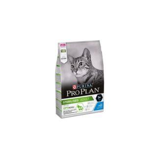 Суха храна PRO PLAN STERILISED ADULT RABBIT за кастрирани котки със заек, 10 kg