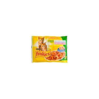 Friskies Junior - мултиопаковка за малки котенца до 1 година 4x100 гр