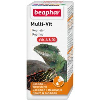 Витамини за влечуги BEAPHAR MULTI VIT, 20 ml