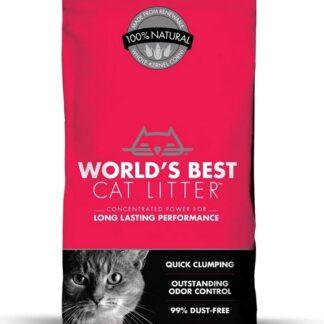 Органична постелка Worlds Best Cat Litter Multiple Cat Clumping Formula