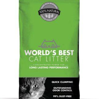 Органична постелка Worlds Best Cat Litter Clumping Formula натурална