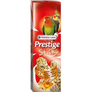 Лакомство за средни папагали стик с ядки и мед VERSELE LAGA STICKS BIG PARAKEETS NUTS & HONEY, 2 бр