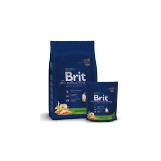 Brit Premium Cat Sterilised пълноценна храна за кастрирани котки 1.5 кг