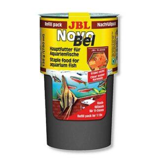 Основна храна на люспи JBL NOVOBEL REFILL PACK (пълнител) за всички декоративни рибки, 130 g