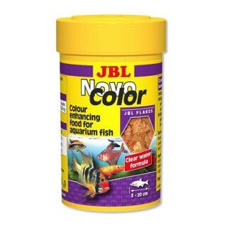 Храна на люспи JBL NOVOCOLOR за подсилване на цветовете