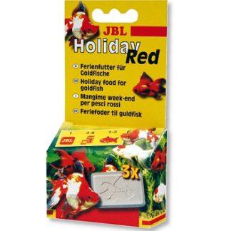 Храна на блокчета JBL HOLIDAY RED за 4-6 дни за златни рибки, 20 g