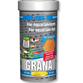 Премиум храна на гранули JBL Grana за малки рибки , 250 ml